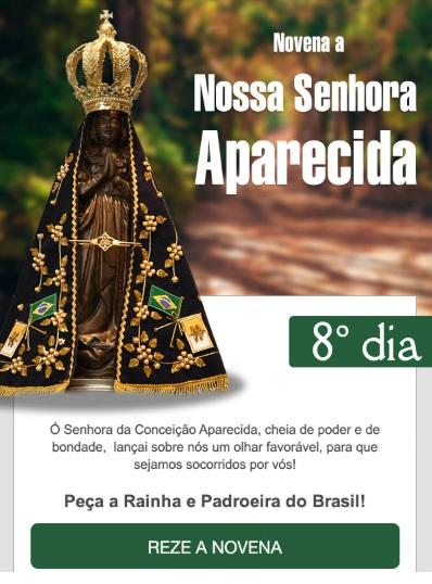 NOVENA A MÃE APARECIDA: FAÇA OS SEUS PEDIDOS A PADROEIRA DO BRASIL!
