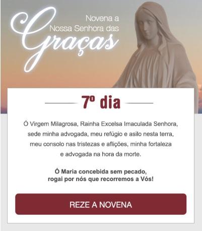 NOVENA A NOSSA SENHORA DAS GRAÇAS: PEÇA-LHE MUITAS BÊNÇÃOS!