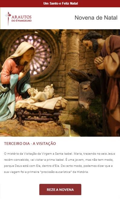 Novena de Natal:  Jesus, Maria e José no presépio. Peça!
