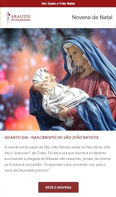 Novena de Natal: Jesus no presépio: Reze pela sua família!