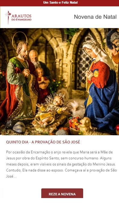 Novena de Natal: Divino Jesus Menino, a Luz do Mundo!
