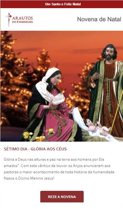 Novena de Natal: Menino Jesus, conservai a paz nas famílias!