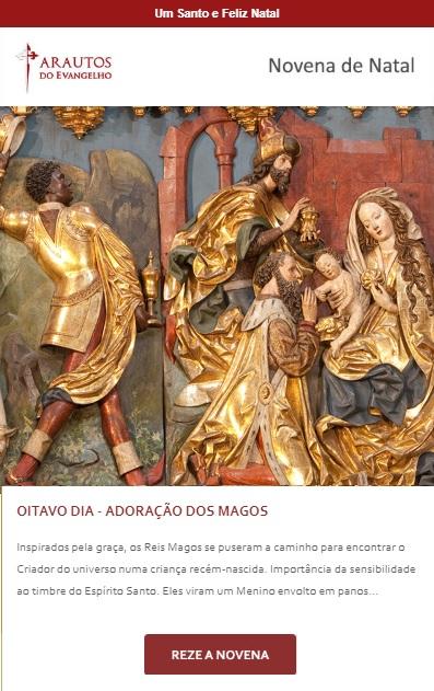 Novena de Natal: Jesus, Deus da paz, tende piedade de nós!