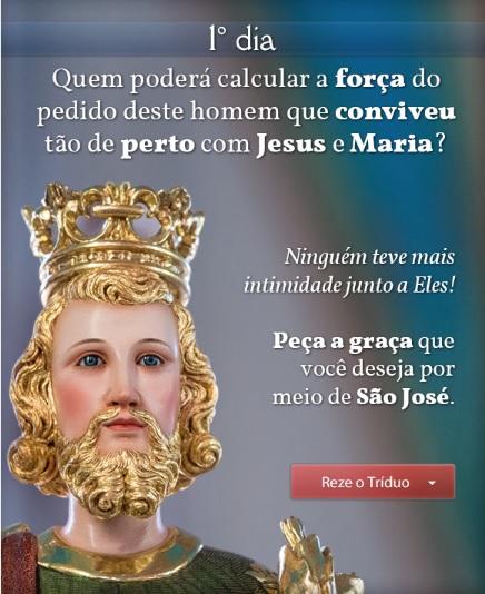 Reze ao Infalível Intercessor São José!