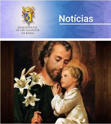 Boletim de Notícias ArquiSalvador – Semana de 15 a 21 de março de 2019