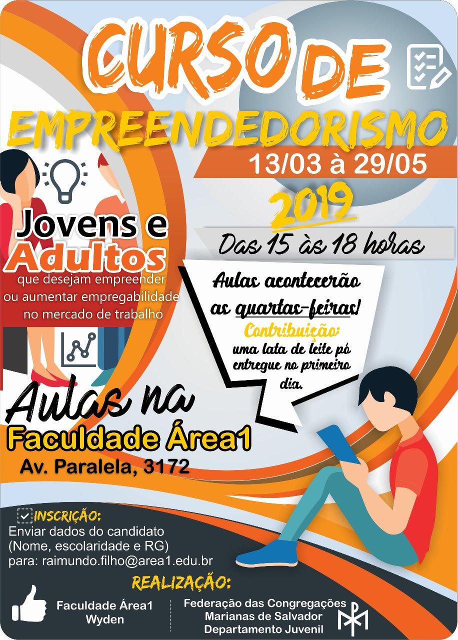 Federação das Congregações Marianas de Salvador oferece Curso de Empreendedorismo