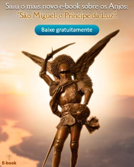 """E-book sobre os Anjos: """"São Miguel, o Príncipe da Luz"""""""