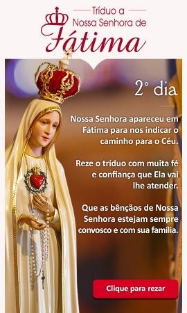 Confie na intercessão de Nossa Senhora!