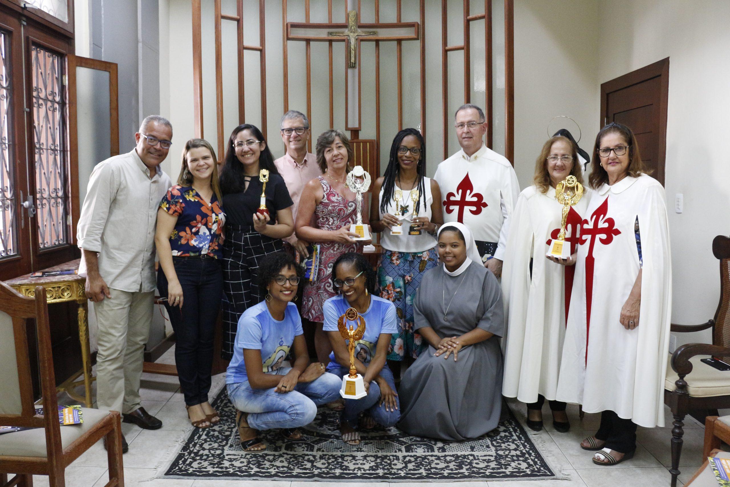 """Premiação dos Presépios da Arquidiocese de Salvador de 2019: """"Som, Luz e Movimento"""", 1º lugar na categoria Institucional"""