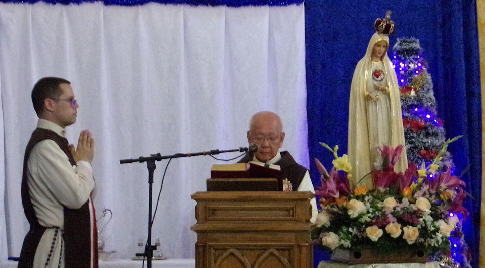 Celebração do Primeiro Sábado na Capela São Salvador (BA)