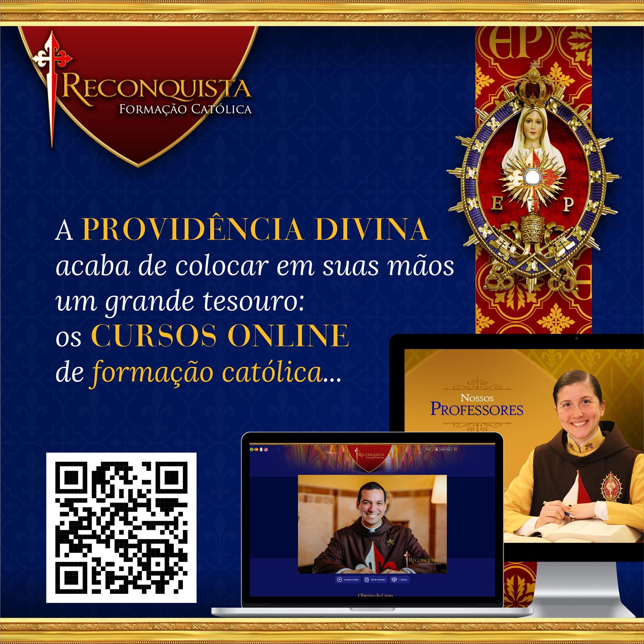 Reconquista: Cursos on-line de formação católica